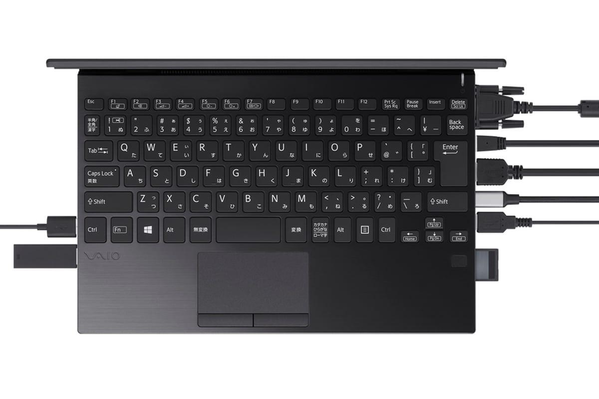 VAIO представи лаптоп с огромен брой конектори и портове